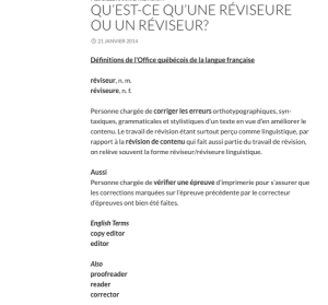 Definitions provided by Quebec's French-language office, the OQLF (Office québécois de la langue française).